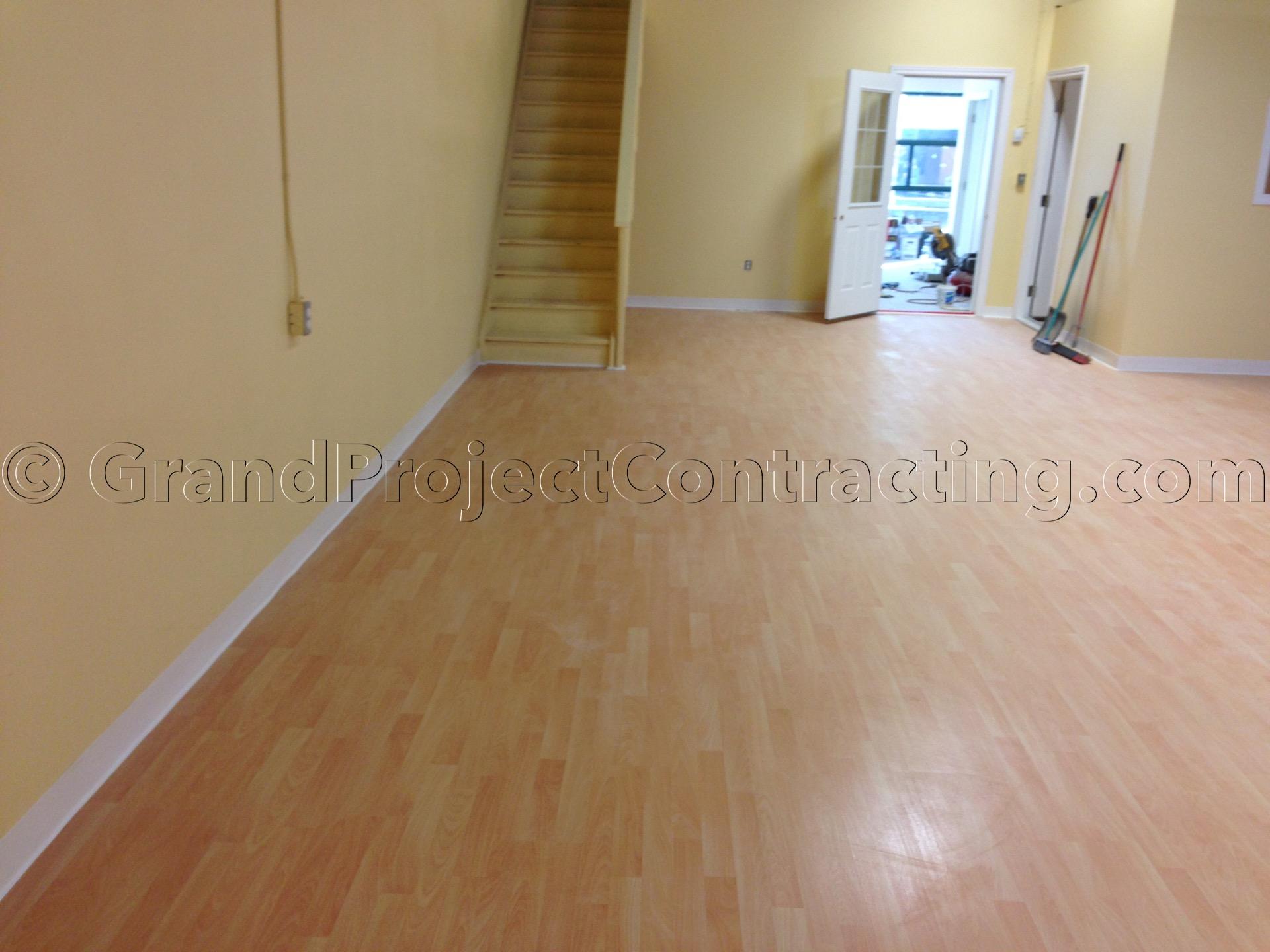 Commercial Laminate Floor Installation Hardwood Floors Milton