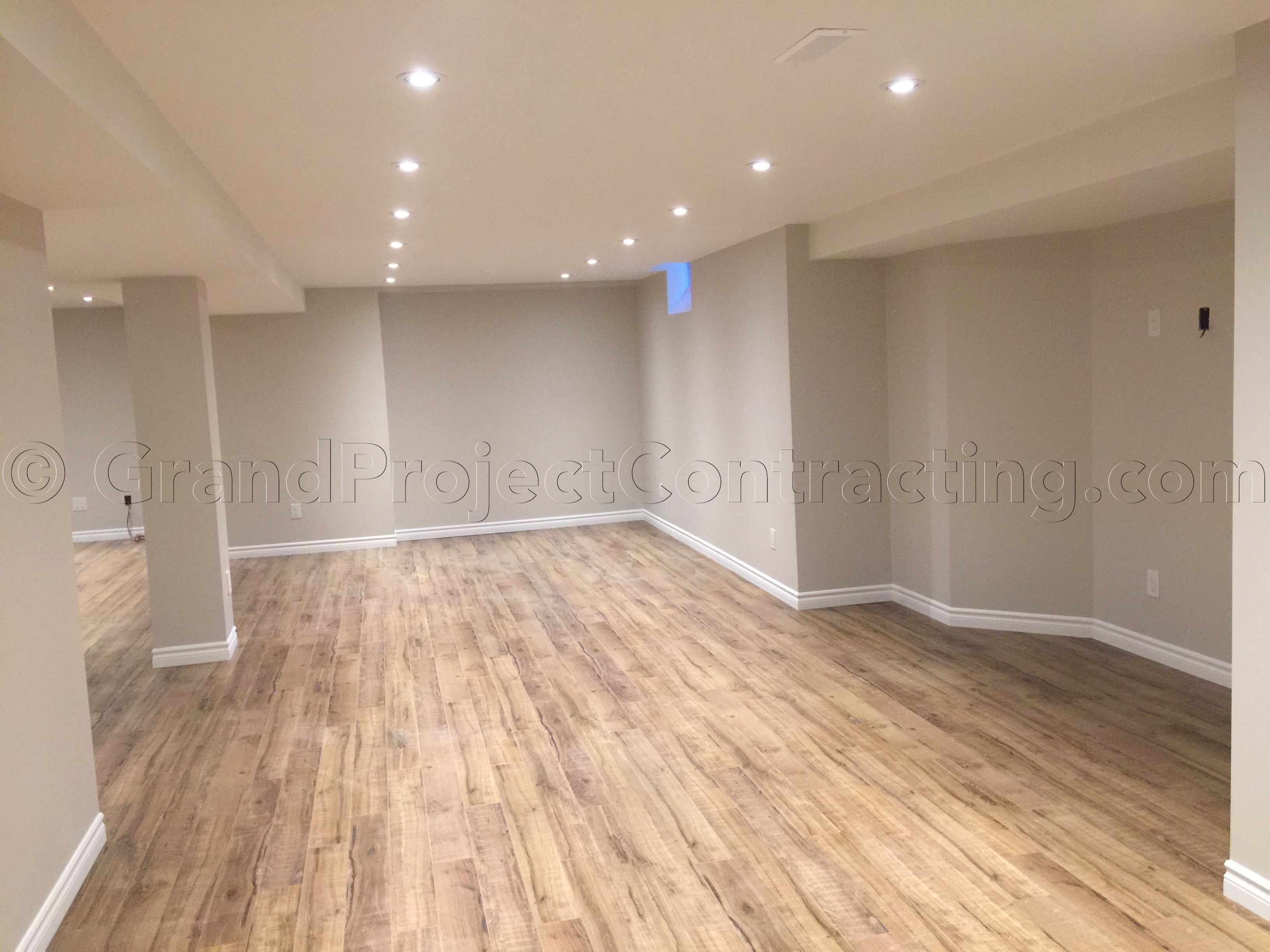 Open Concept Basement In Mississauga