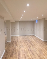 Basement renovation contractor in Mississauga