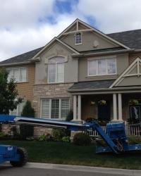 Stucco Repair in Milton
