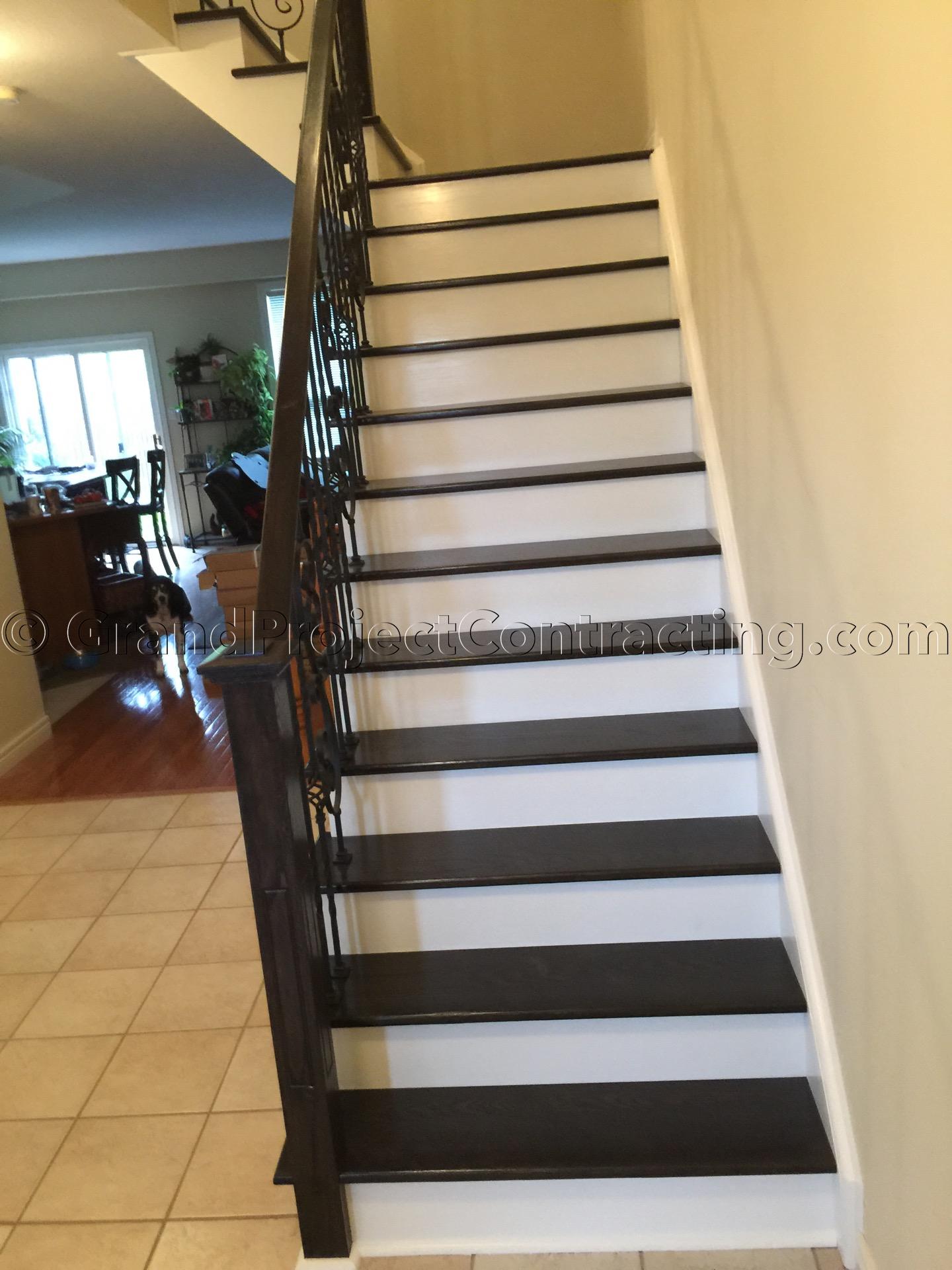 Stair Refinishing And Hardwood Floors Renovation