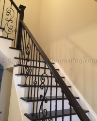 Wood Stairs and Hardwood Flooring Installation