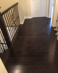Hardwood Floors and wood stairs