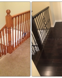 Refinishing your stairs