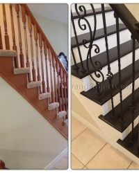 Refinishing your carpeted stairs