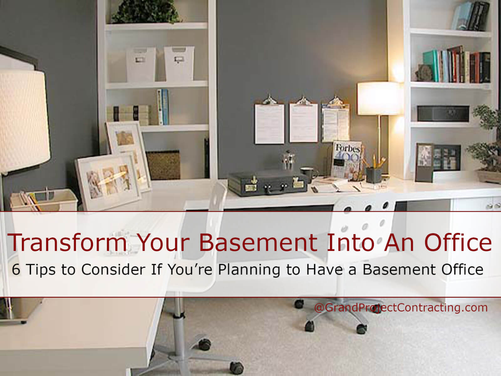 transform your basement into an office basement renovation