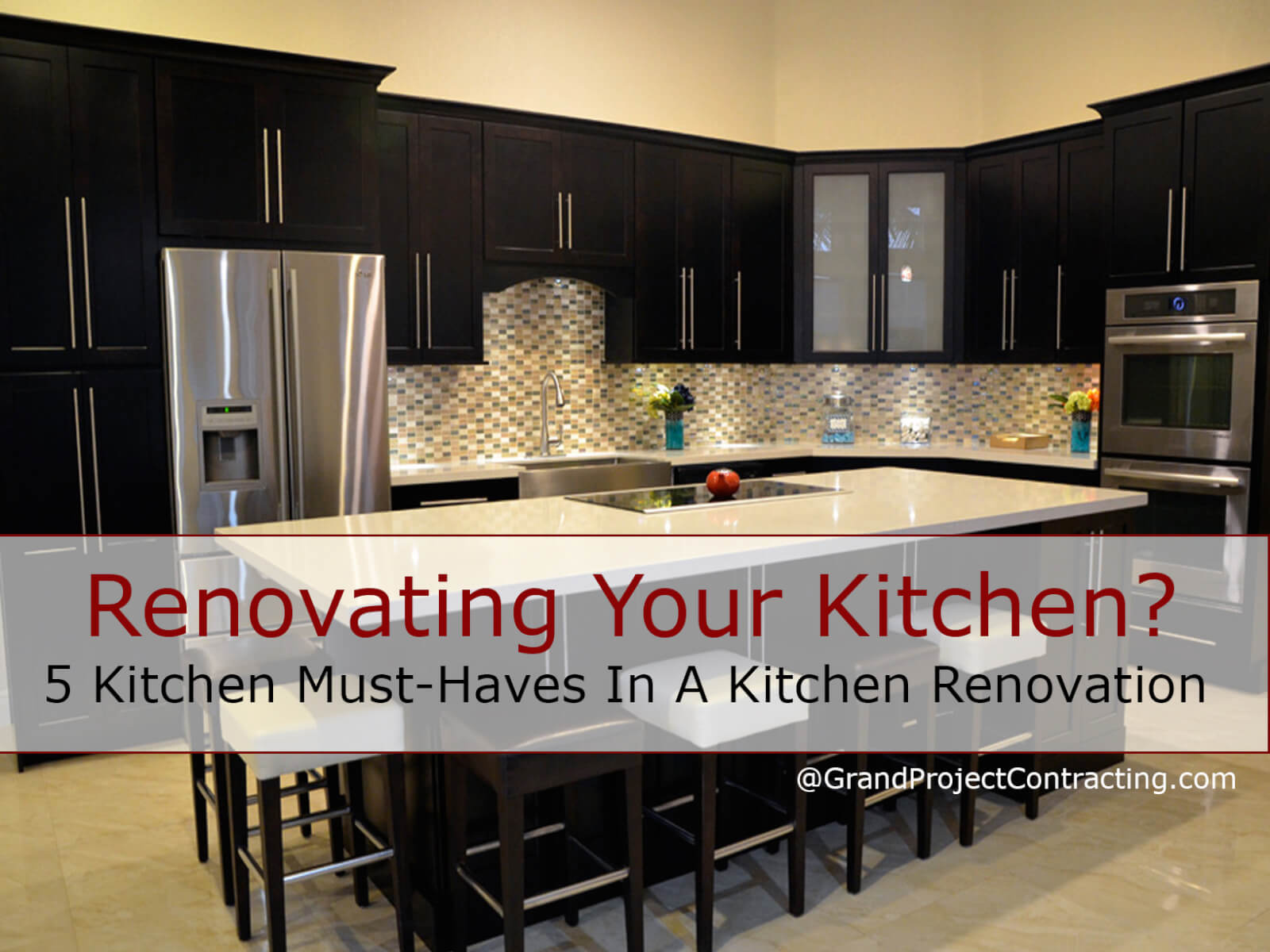 5 Dream Kitchen Must Haves: 5 Kitchen Must-Haves In A Kitchen Renovation