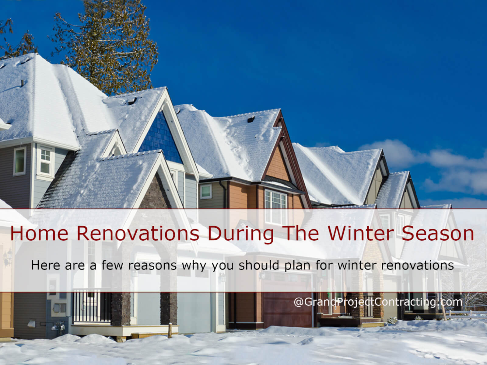 Home Renovations During Winter