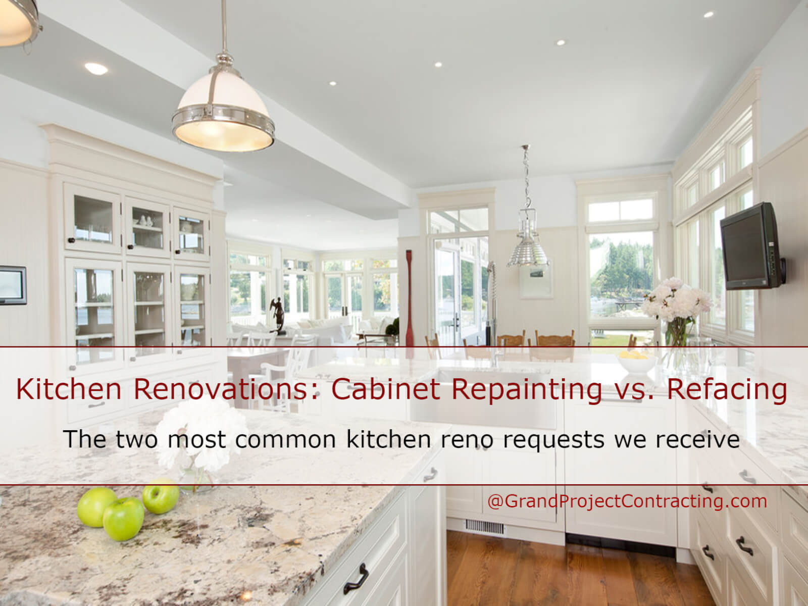 Kitchen Cabinet Painting vs refacing