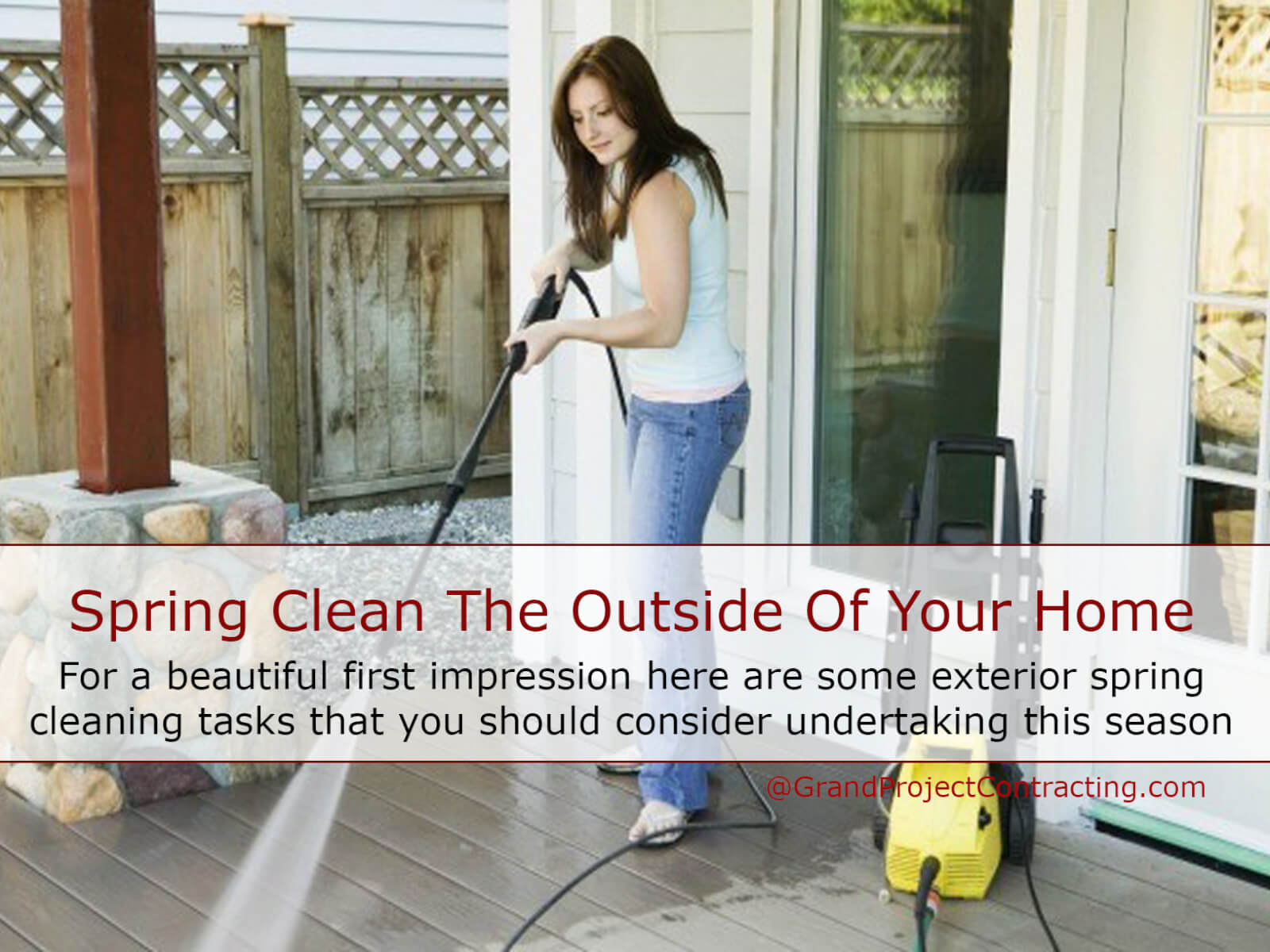 Spring Clean The Outside Of Your Home